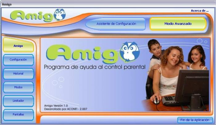 amigo control parental, registra tus moviemientos en internet y pc