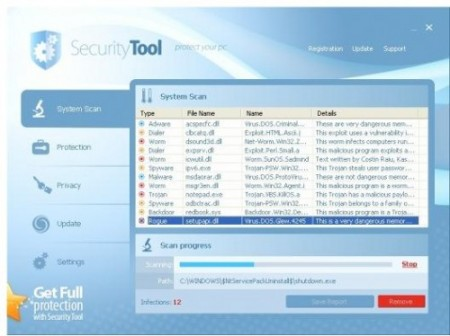 Eliminar Security Tool