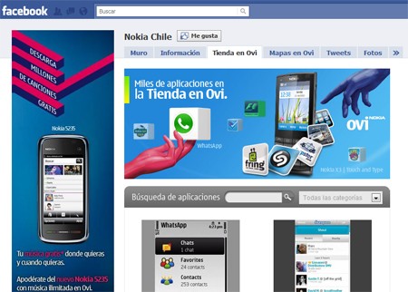 Nokia se integra a Facebook