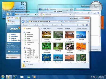 Como mover las ventanas en windows 7
